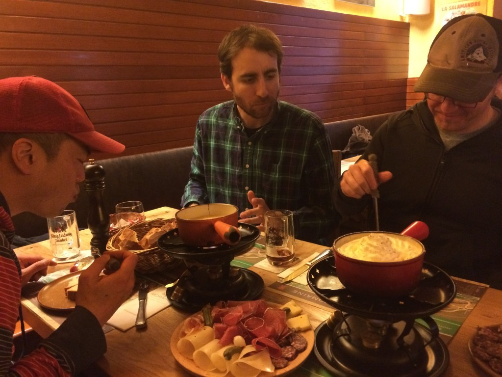 fondue! (photo credit: R. Kappe)